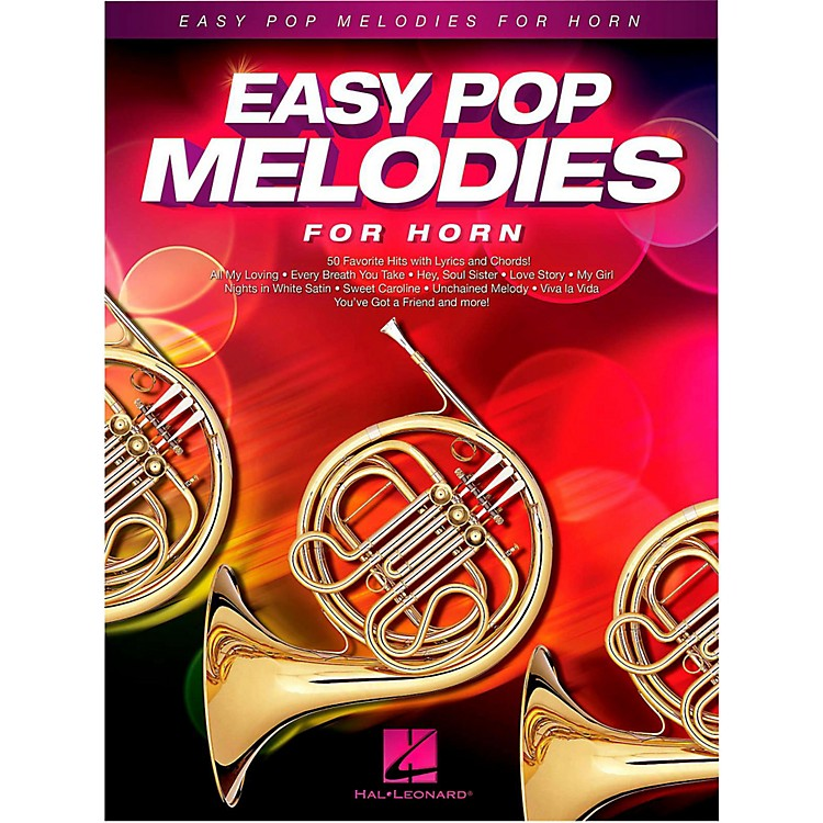 Hal LeonardEasy Pop Melodies For Horn