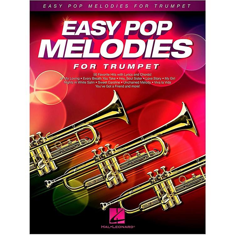 Hal LeonardEasy Pop Melodies For Trumpet