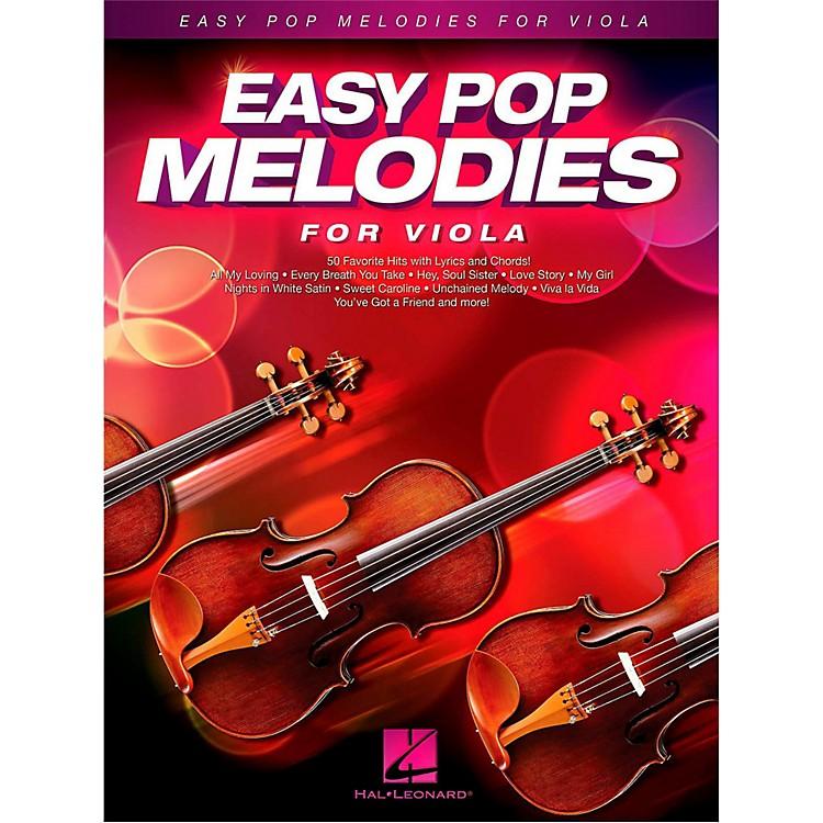 Hal LeonardEasy Pop Melodies For Viola