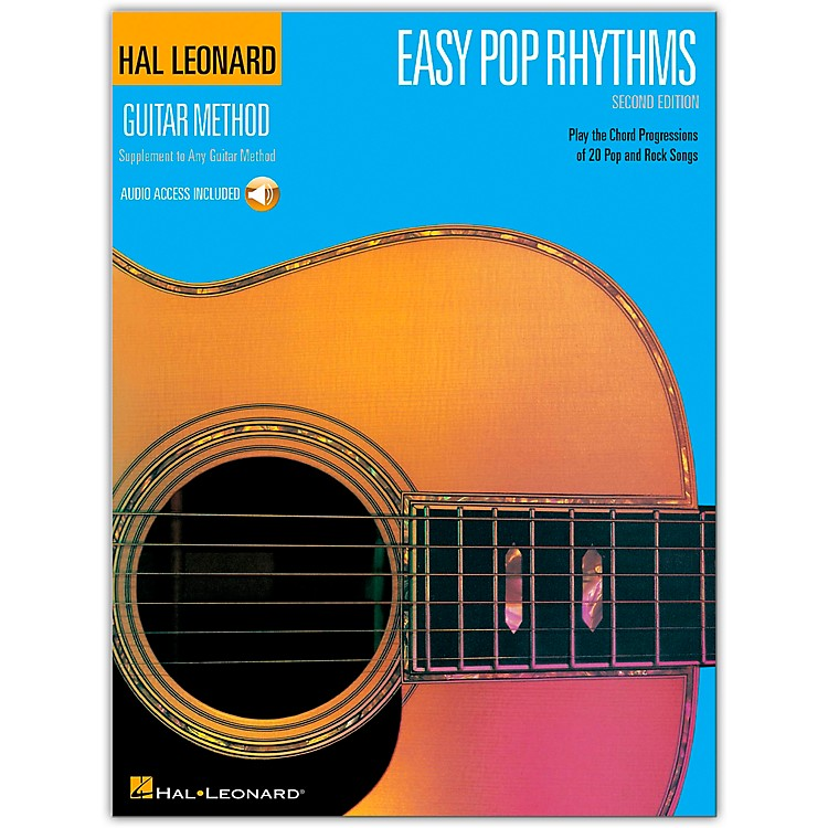Hal LeonardEasy Pop Rhythms 2nd Edition (Book/Online Audio)