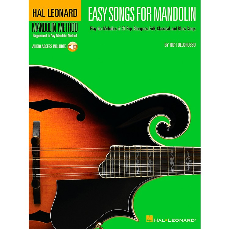Hal LeonardEasy Songs for Mandolin Tab Book with CD Method Supplement