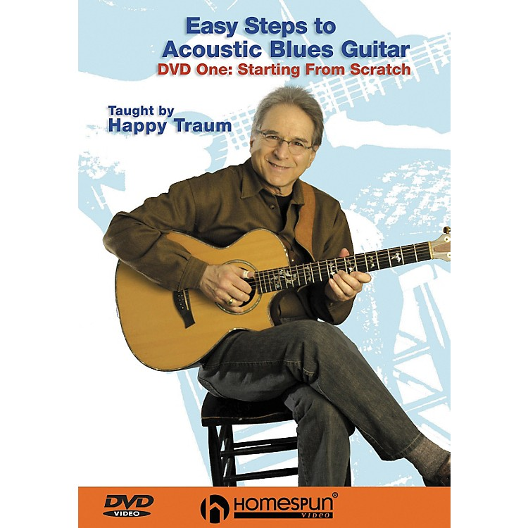 HomespunEasy Steps to Acoustic Blues Guitar (DVD)