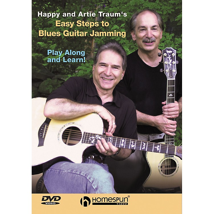 Homespun Easy Steps to Blues Guitar Jamming (DVD)