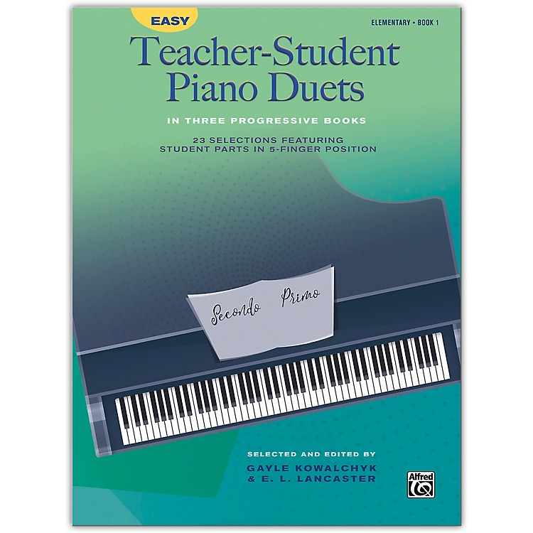 Alfred Easy Teacher-Student Piano Duets in Three Progressive Books, Book 1 Elementary