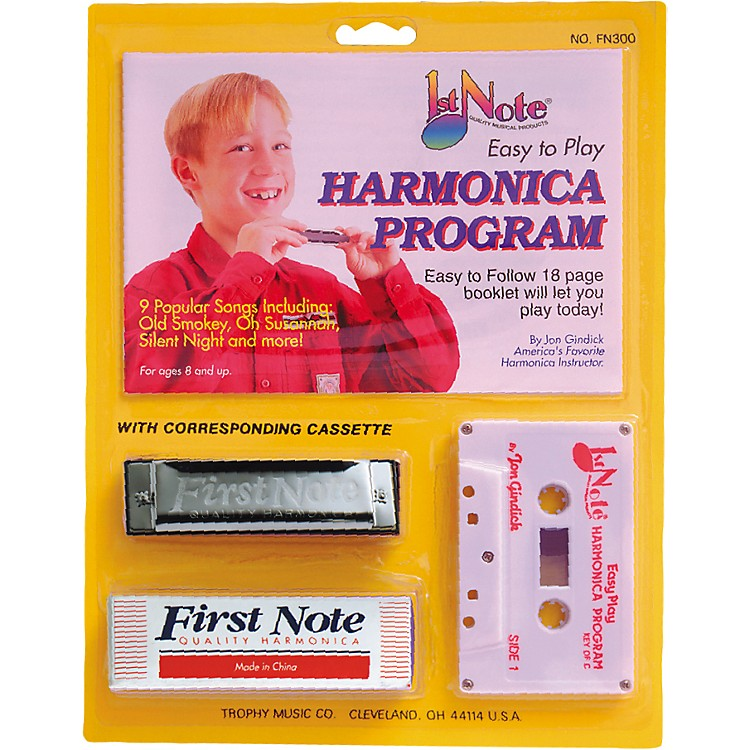 First NoteEasy To Play Harmonica Instruction Program