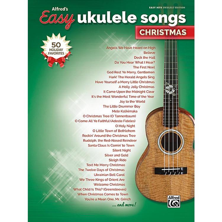 AlfredEasy Ukulele Songs: Christmas Easy Hits Ukulele Songbook