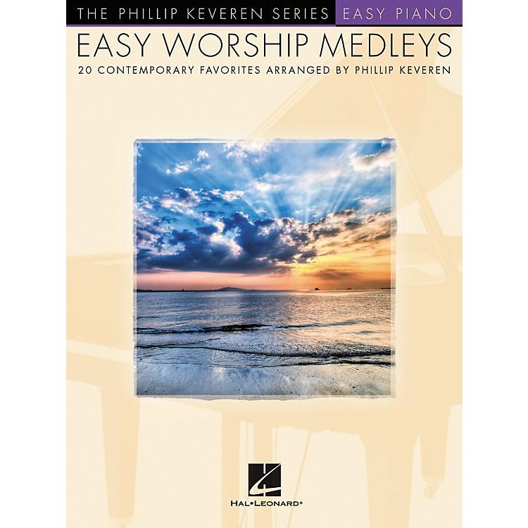 Hal LeonardEasy Worship Medleys Easy Piano Songbook