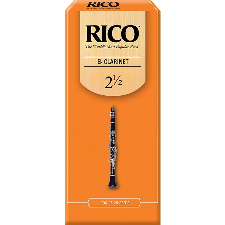 RicoEb Clarinet Reeds, Box of 25Strength 2.5
