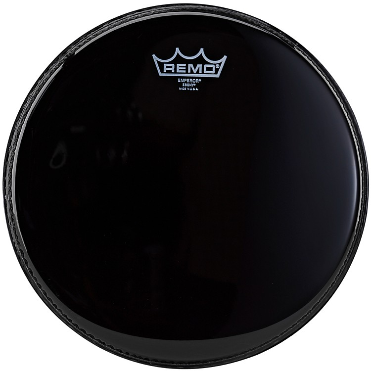 Remo Ebony Emperor Batter Drum Head 12 in.