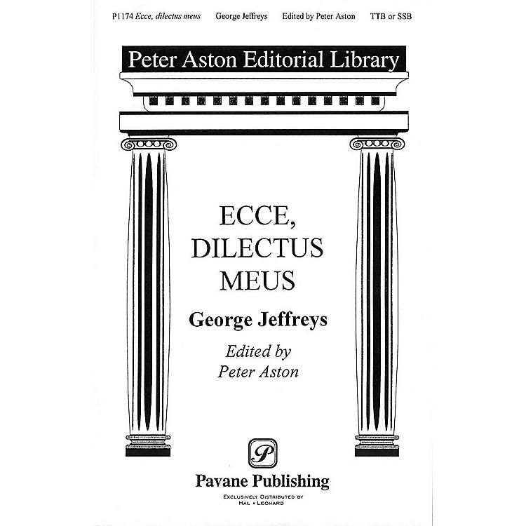 Banks Music PublicationsEcce, Dilectus Meus TTB/SSA arranged by Peter Aston