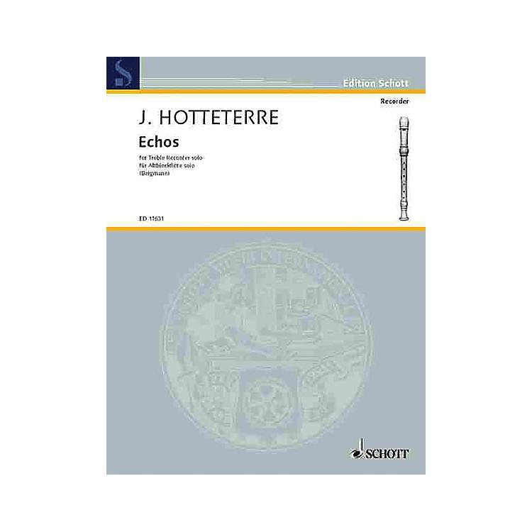 SchottEchoes (Alto Recorder) Schott Series