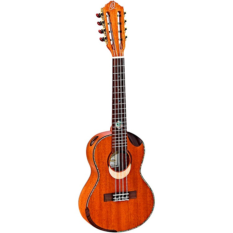Ortega Eclipse Series ECLIPSE-TE8 8-String Tenor Ukulele Gloss Natural