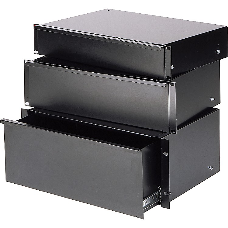 Raxxess Economy Sliding Rack Drawer  3 Space