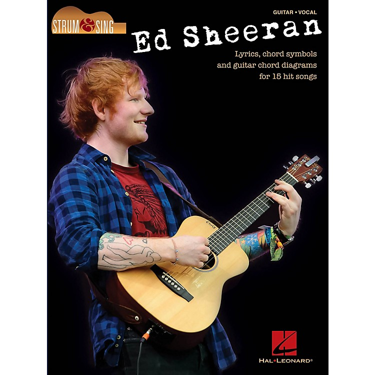 Hal LeonardEd Sheeran - Strum & Sing Strum and Sing Series Softcover Performed by Ed Sheeran