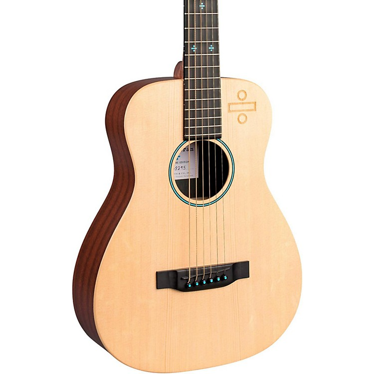 MartinEd Sheeran 3 Divide Signature Edition Little Martin Acoustic-Electric GuitarNatural