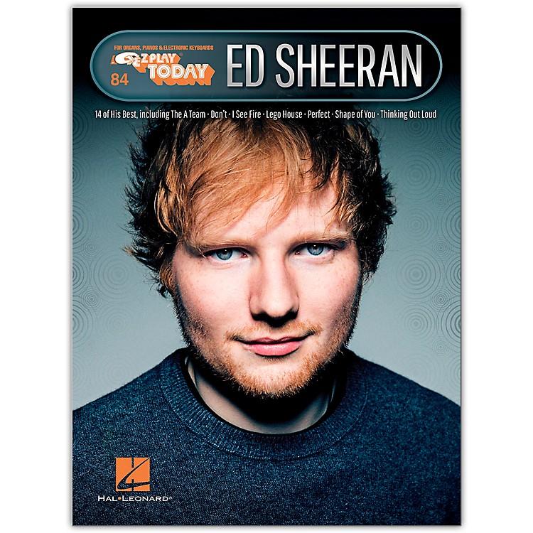 Hal LeonardEd Sheeran E-Z Play Today Volume 32