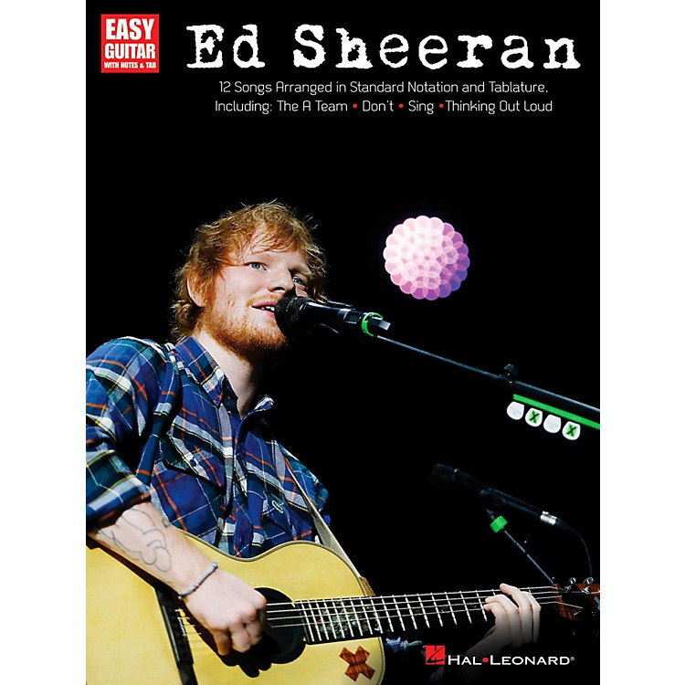 Hal Leonard Ed Sheeran for Easy Guitar (With Tab)