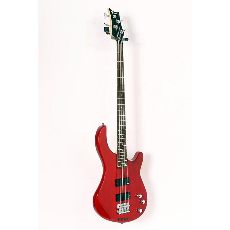 DeanEdge 1 Electric Bass GuitarTransparent Red888365119489
