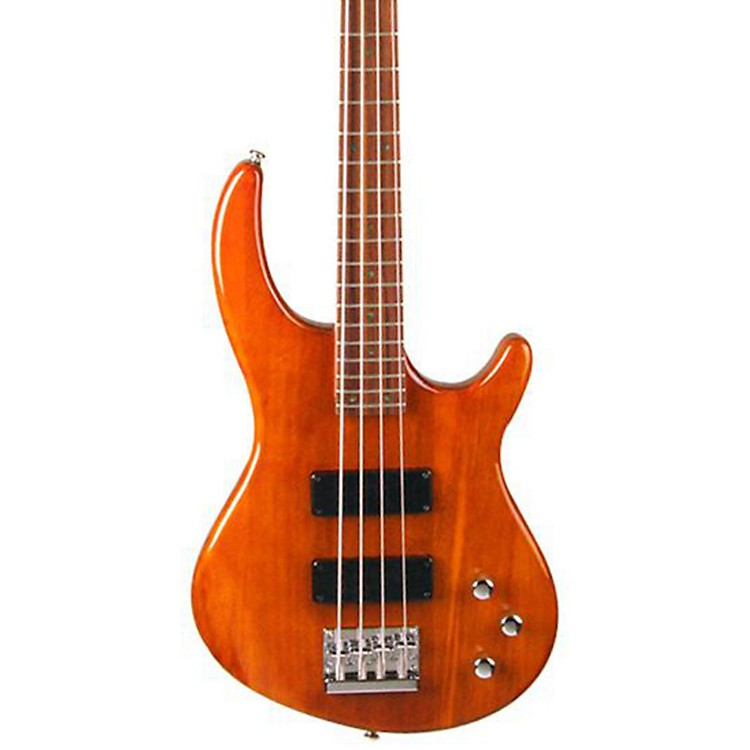 Dean Edge 1 Electric Bass Guitar Transparent Amber