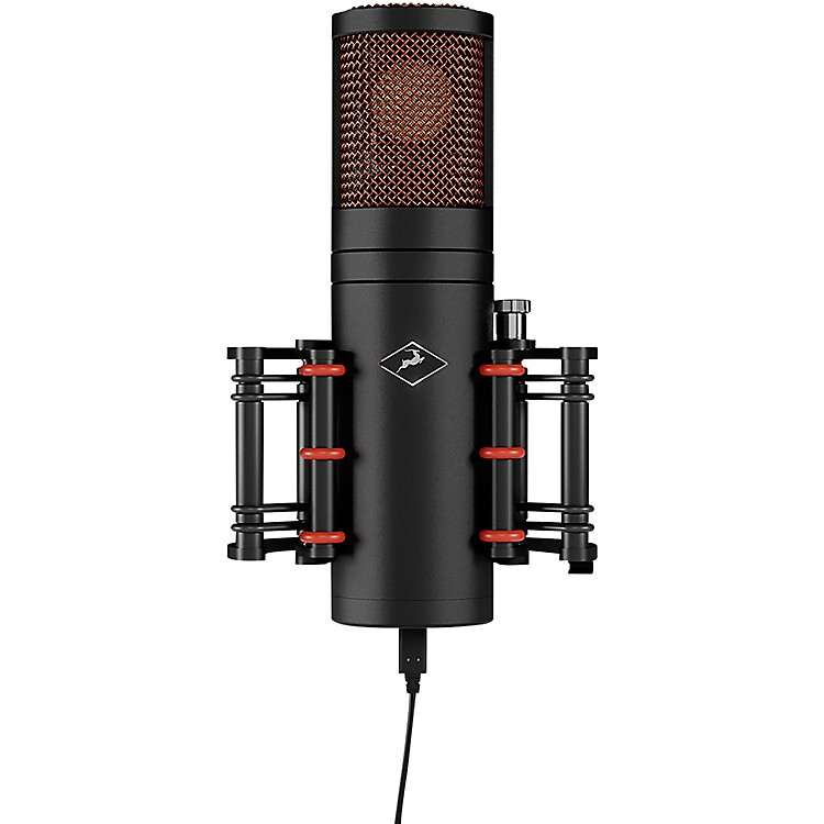 Antelope Audio Edge Go Modeling Bus-powered Large-diaphragm Microphone Black