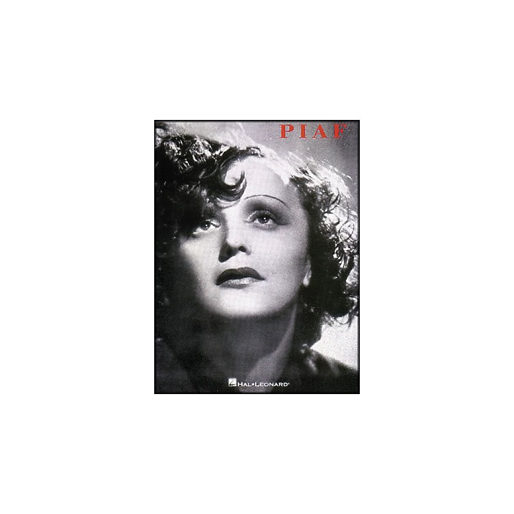 Hal LeonardEdith Piaf Song Collection arranged for piano, vocal, and guitar (P/V/G)