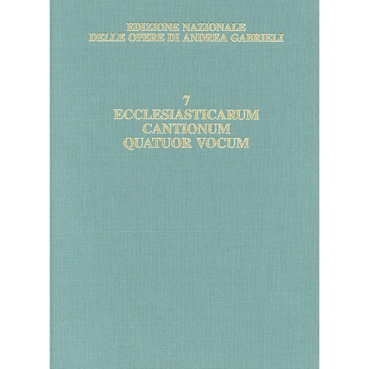 RicordiEdizione Nazionale Delle Opere Di Andrea Gabrieli - Volume 7 Score Composed by Andrea Gabrieli