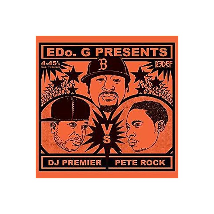 Alliance Edo G - Pete Rock Vs. Dj Premier (4X45 Set)