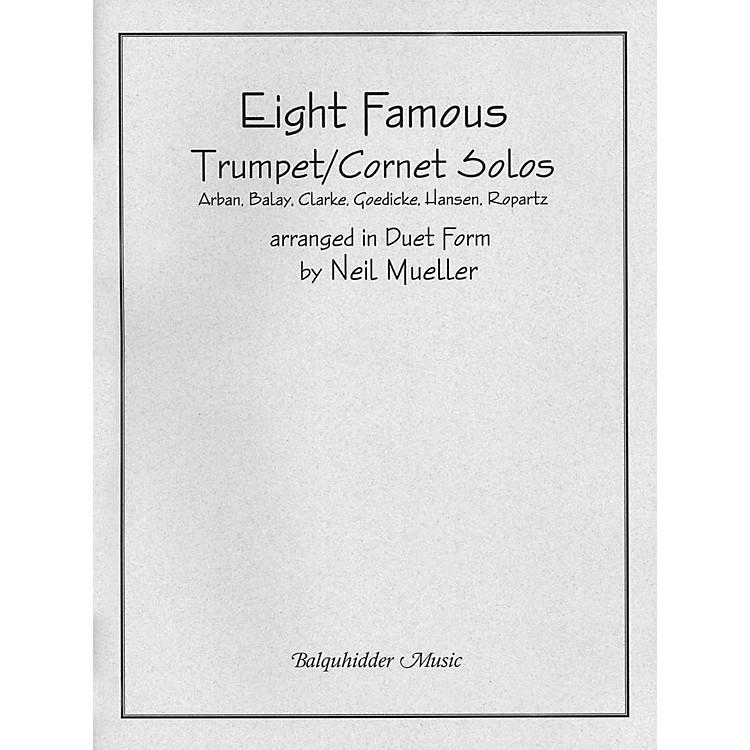 Carl FischerEight Famous Trumpet / Cornet Solos Arranged in Duet Form Book