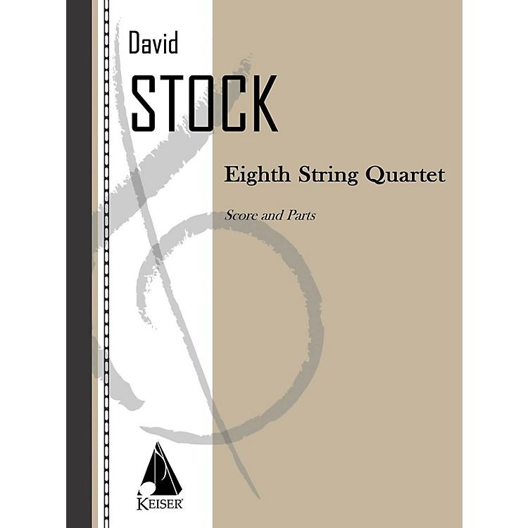 Lauren Keiser Music PublishingEighth String Quartet LKM Music Series by David Stock