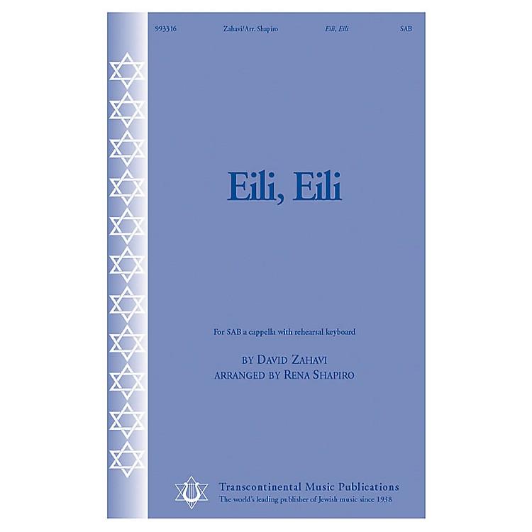 Transcontinental MusicEili, Eili SAB A Cappella arranged by Rena Shapiro