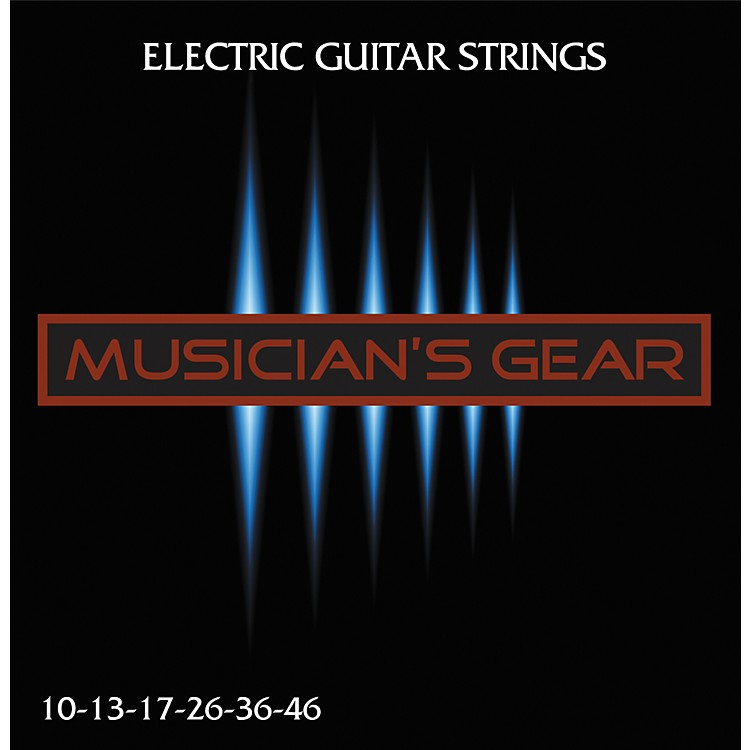 Musician's Gear Electric 10 Nickel Plated Steel Guitar Strings