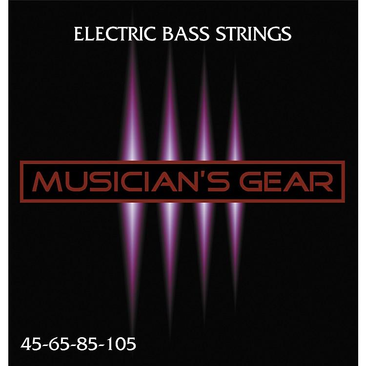Musician's GearElectric 4-String Nickel Plated Steel Bass Strings