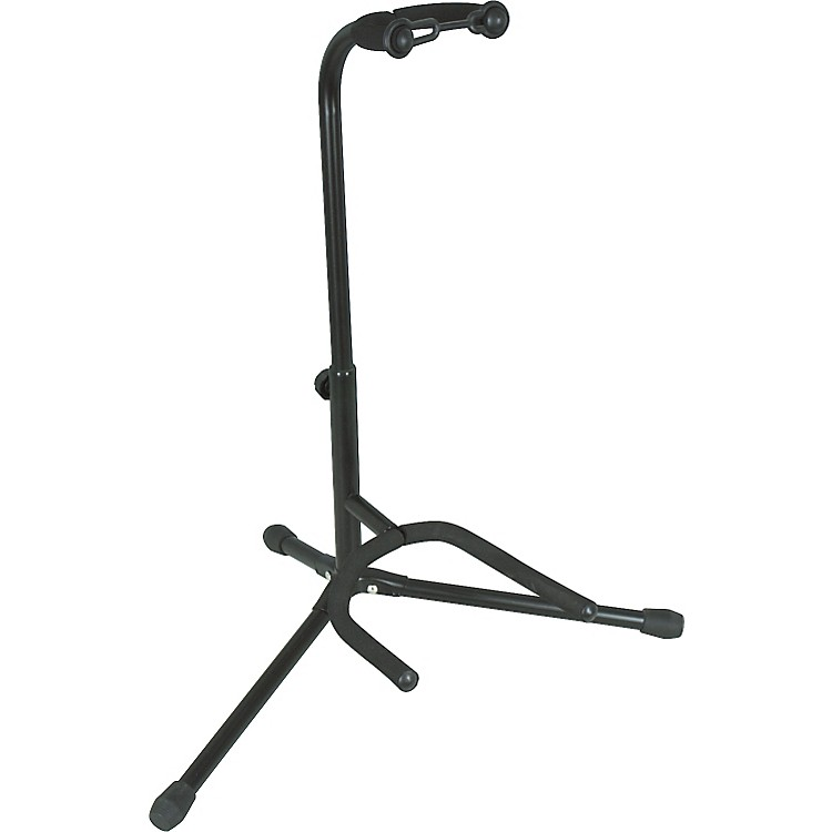 Musician's Gear Electric, Acoustic and Bass Guitar Stand Black