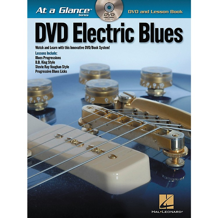 Hal Leonard Electric Blues - At A Glance (Book/DVD)
