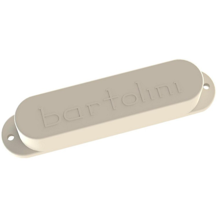 Bartolini Electric Guitar 6-String Vintage Tone Neck Pickup for Strat in White, North White