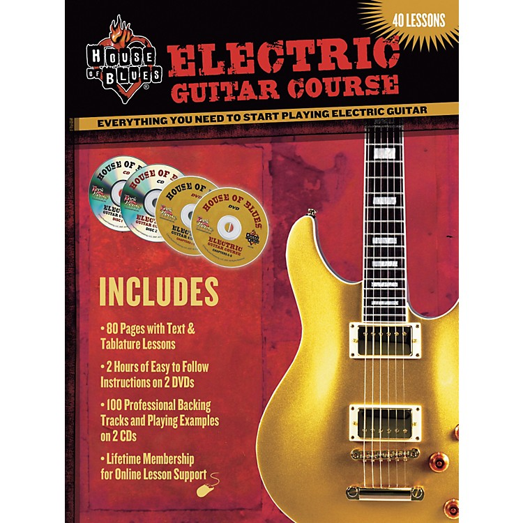 House of BluesElectric Guitar Course DVD