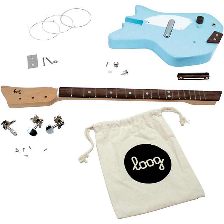 Loog GuitarsElectric Guitar KitBlue