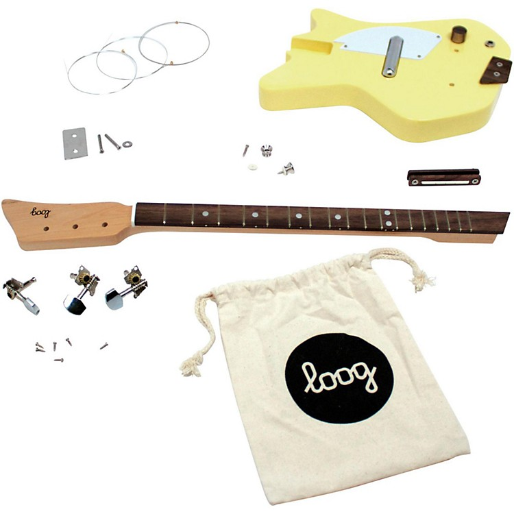 Loog Guitars Electric Guitar Kit Blue