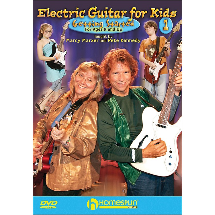 HomespunElectric Guitar for Kids, DVD One