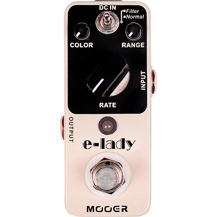 MooerElectric Lady Analog Flanger Guitar Effects Pedal