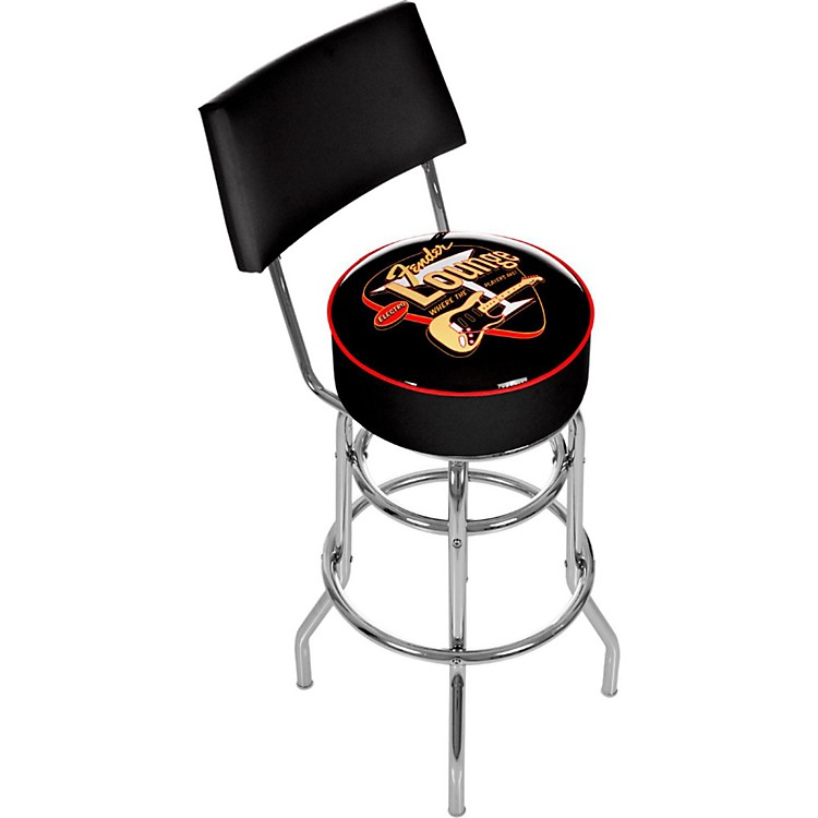 Fender Electro Lounge 30 Quot Bar Stool With Back Music123
