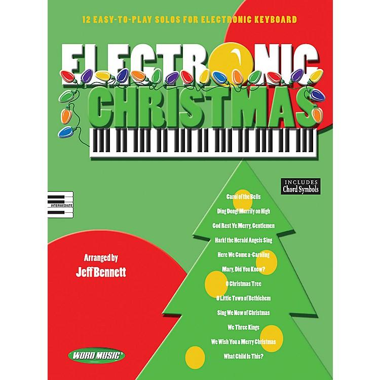 Word MusicElectronic Christmas Sacred Folio Series