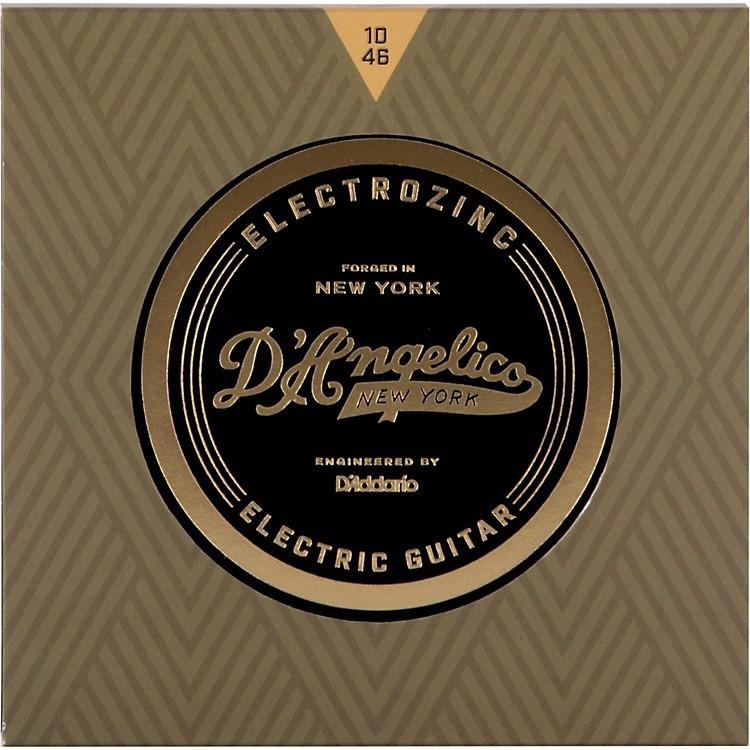 D'AngelicoElectrozinc Rock 10-46 Light Electric Guitar Strings