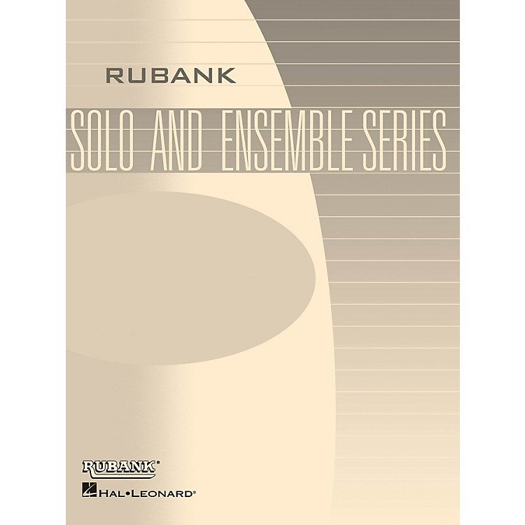 Rubank PublicationsElegie (Op. 55, No. 1) (Flute Solo with Piano - Grade 1.5) Rubank Solo/Ensemble Sheet Series