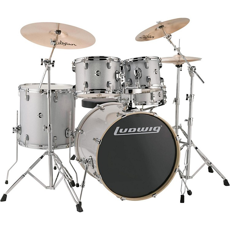 LudwigElement Evolution 5-piece Drum Set with 22