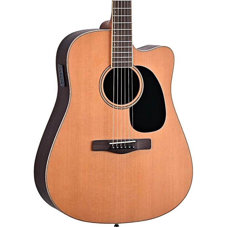 Mitchell Element Series ME2CEC Dreadnought Cutaway Acoustic-Electric Guitar Natural Indian Rosewood back/sides, Solid Red Cedar top