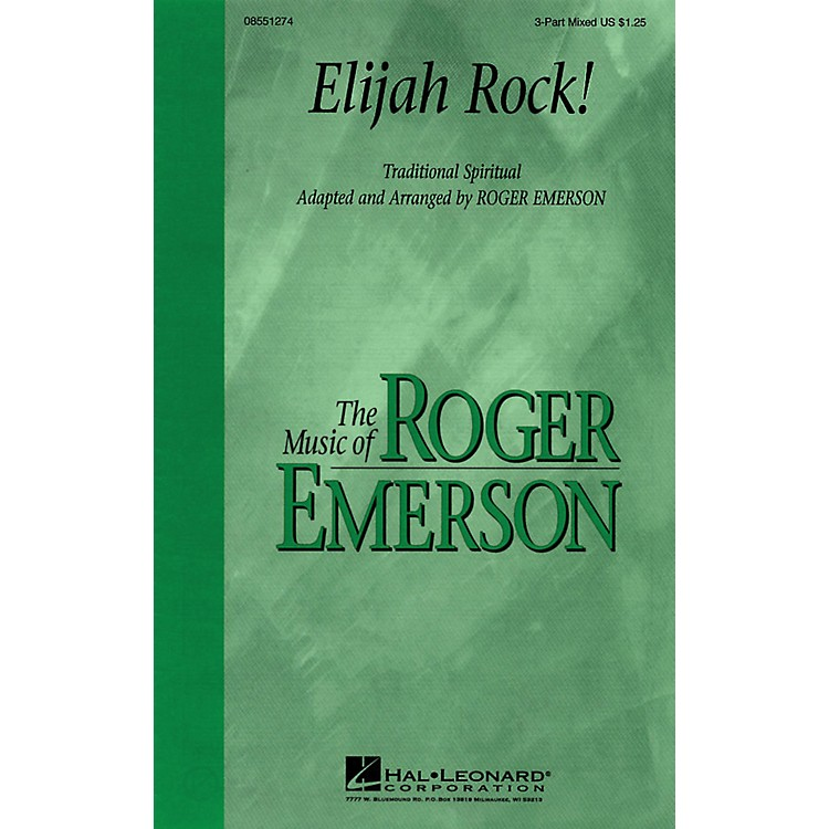 Hal LeonardElijah Rock 3-Part Mixed