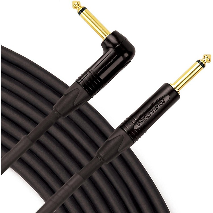 Livewire Elite Instrument Cable Angled/Straight 10 ft. Black