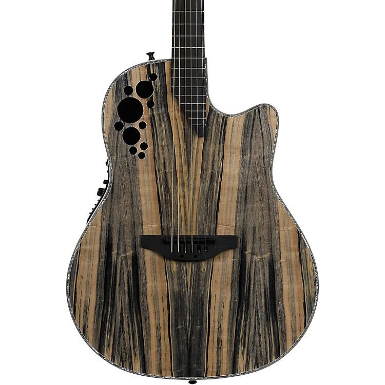 OvationElite Plus Series C2078AXP-DW Dragon Wood Acoustic-Electric GuitarNatural