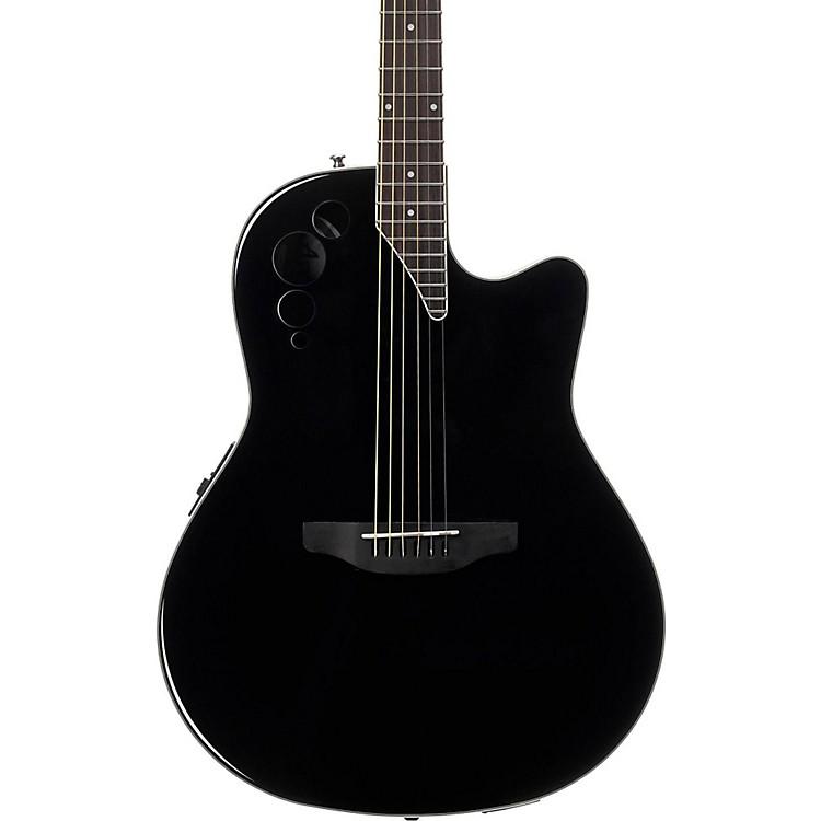 ApplauseElite Series AE44II Acoustic-Electric GuitarBlack